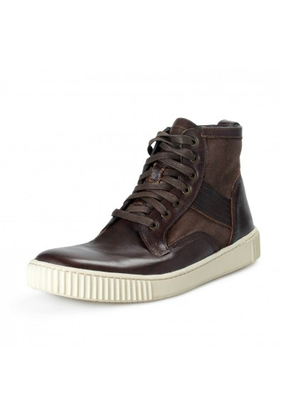 """John Varvatos All Star USA """"Bedford Trooper"""" Leather Boots Shoes"""