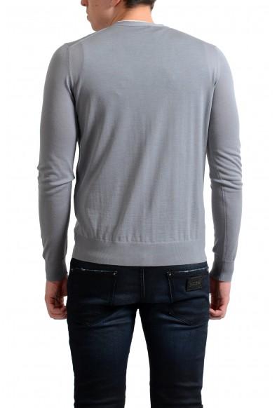 Prada Men's 100% Wool Gray Cardigan Pullover Sweater: Picture 2
