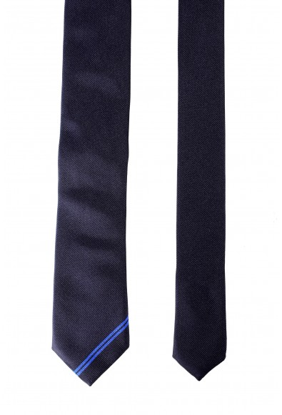 Hugo Boss Men's Purple 100% Silk Tie: Picture 2