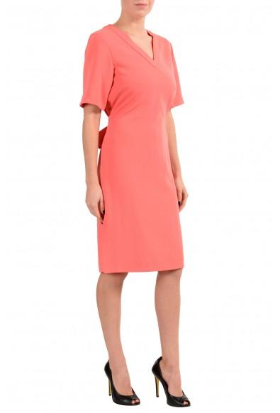 "Hugo Boss ""Dakali"" Women's Peach Short Sleeve Sheath Dress: Picture 2"