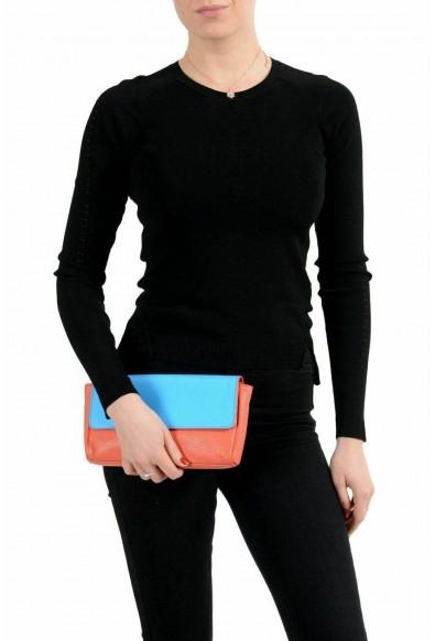 Jil Sander 100% Leather Multi-Color Women's Clutch Bag: Picture 2