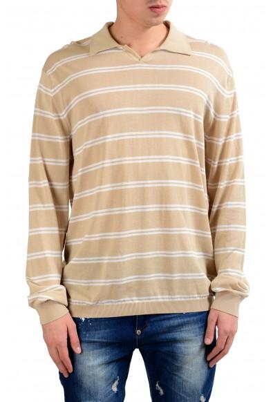 Malo Men's Striped Polo Light Sweater