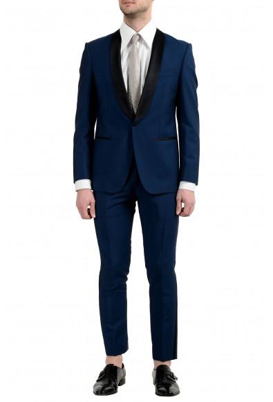 "Hugo Boss ""Hanfrey/Greys"" Men's Mohair Wool One Button Suit"