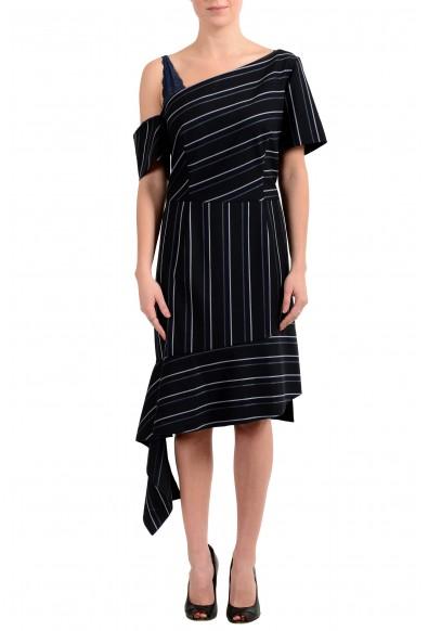 "Hugo Boss ""Kaloras"" Women's Striped Asymmetrical Dress"