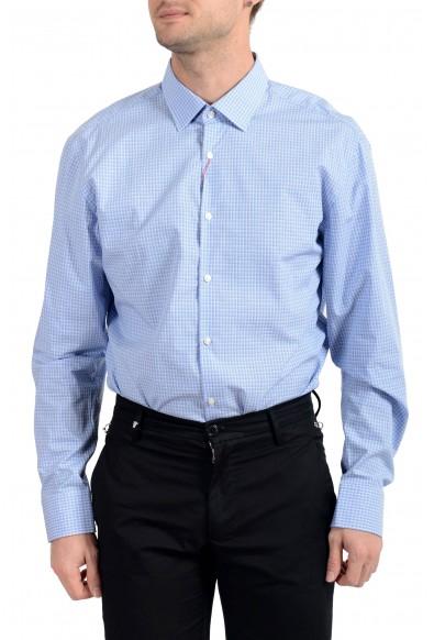 "Hugo Boss Men's ""Mabel"" Plaid Sharp Fit Long Sleeve Dress Shirt: Picture 2"