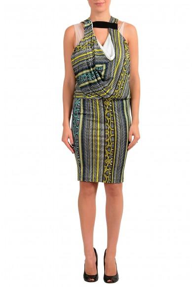 Just Cavalli Women's Multi-Color Striped Bodycon Dress