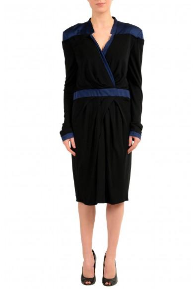Viktor & Rolf Multi-Color Long Sleeve Women's Sheath Dress
