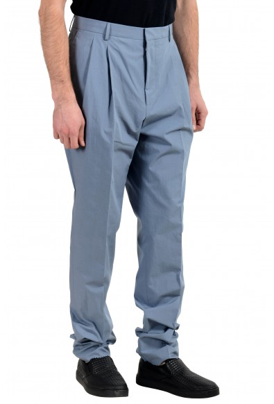 """Hugo Boss """"Orville"""" Men's Gray Relaxed Fit Pleated Casual Pants: Picture 2"""