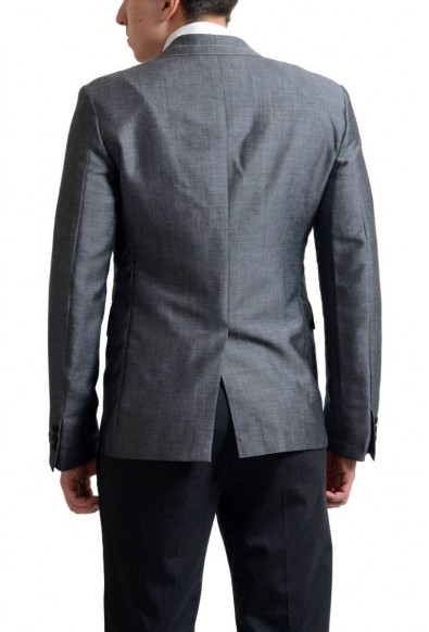 Prada Men's Gray Mohair Wool Two Button Sport Coat Blazer: Picture 2