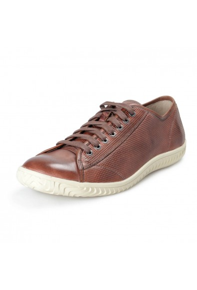 John Varvatos Star USA Leather Hattan Low Top Sneakers Shoes