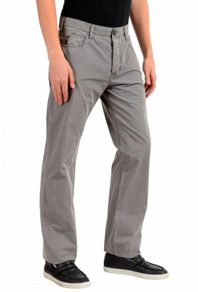 Armani Jeans AJ Men's Gray Straight Leg Light Jeans: Picture 2