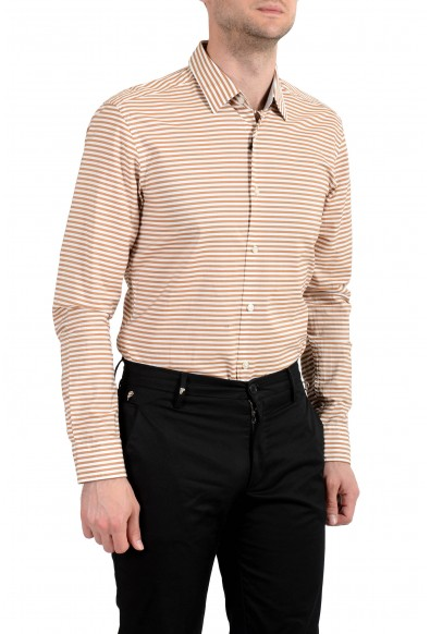 Hugo Boss Men's Ronni_53F Slim Fit Striped Long Sleeves Casual Shirt: Picture 2