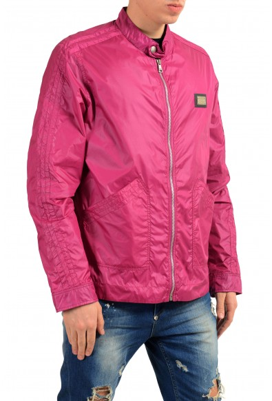 Dolce & Gabbana Men's Raspberry Full Zip Windbreaker Jacket: Picture 2