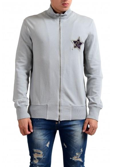 Exte Men's Gray Full Zip Long Sleeve Track Jacket
