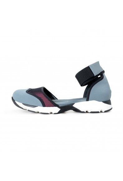 """Marni Women's """"Mary Jane"""" Leather Canvas Sandals Shoes: Picture 2"""