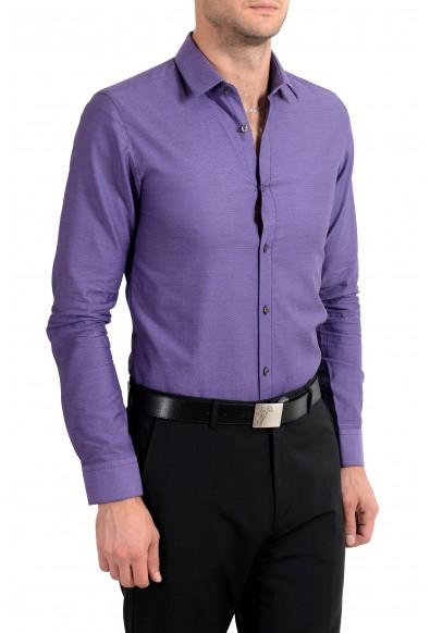 "Hugo Boss ""EagelX"" Men's Slim Fit Purple Long Sleeve Dress Shirt: Picture 2"