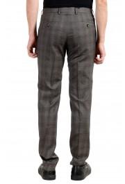 "Hugo Boss ""Genesis3"" Men's 100% Wool Gray Plaid Dress Pants : Picture 3"