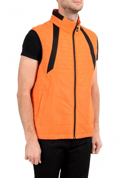 """Hugo Boss """"Vado1"""" Men's Orange Lightly Insulated Full Zip Vest : Picture 2"""