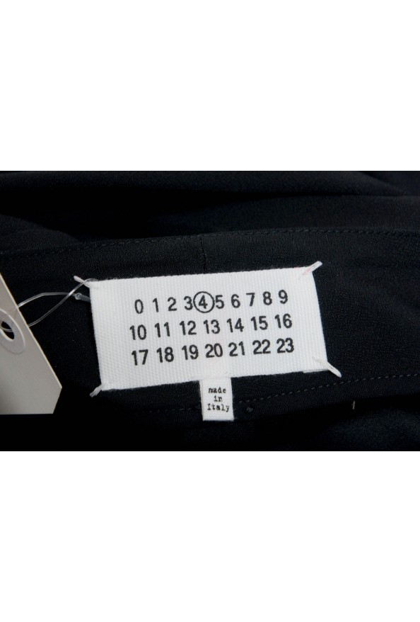 Maison Margiela 4 Women's Black Wool Dress Pants: Picture 4