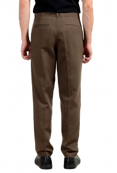 "Hugo Boss ""Kirio1-Pleats"" Men's Olive Green Casual Pants : Picture 2"