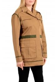 Versace Women's Brown Button Down Blazer Jacket Coat: Picture 5