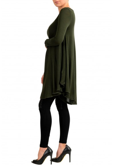 Maison Margiela MM6 Angora Cashmere Green Women's Sweater Dress : Picture 2