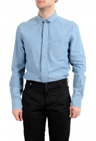 """Dolce&Gabbana D&G """"Brad"""" Men's Blue Long Sleeve Dress Shirt: Picture 2"""