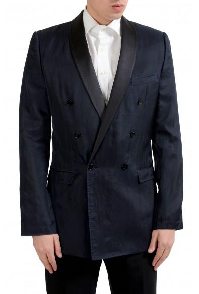 "Dolce & Gabbana ""Martini"" Men's Wool Silk Blazer Sport Coat"