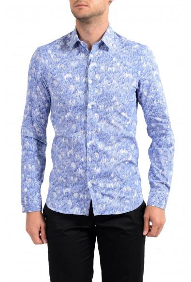 Kenzo Men's Multi-Color Slim Long Sleeve Dress Shirt