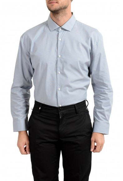 "Hugo Boss Men's ""EastonX"" Slim Striped Long Sleeve Dress Shirt: Picture 2"