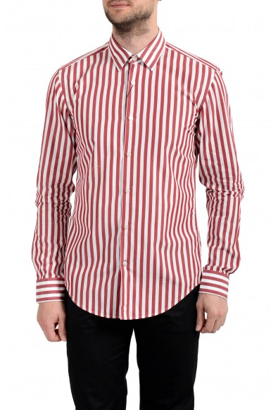 "Hugo Boss ""Ronni_3F"" Men's Slim Striped Long Sleeve Casual Shirt"