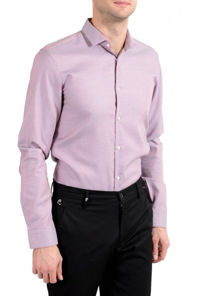 "Hugo Boss ""Erondo"" Men's Slim Purple Long Sleeve Dress Shirt: Picture 2"