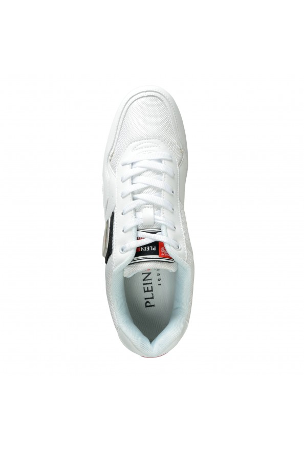 """Plein Sport """"Unseld"""" White Fashion Sneakers Shoes: Picture 8"""