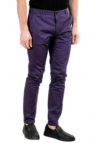 "Hugo Boss ""Heldor2"" Men's Purple Stretch Casual Pants: Picture 2"