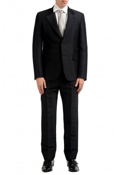 Maison Margiela 14 Men's Wool Charcoal Two Button Suit
