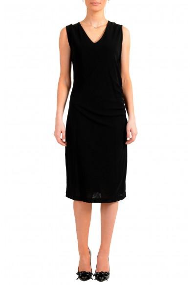 "Hugo Boss Women's ""Erela"" Black Sleeveless Pencil Dress"
