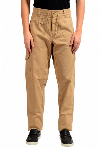 Dolce & Gabbana Men's Beige Cargo Casual Pants