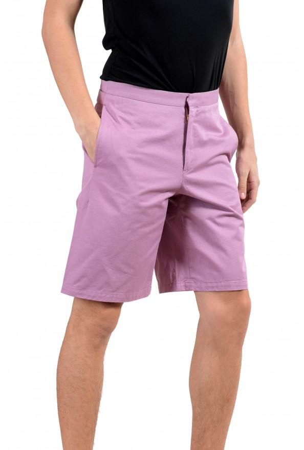 Versace Men's Purple Casual Shorts : Picture 2