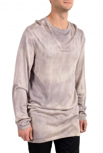 Versace Men's 100% Silk Crewneck Oversized Pullover Sweater: Picture 2