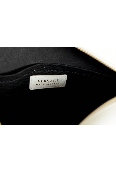 Versace Women's White Medusa Textured Leather Crossbody Bag: Picture 2