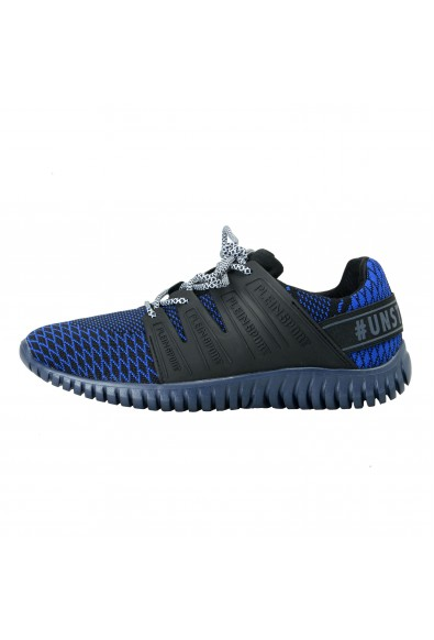 """Plein Sport """"Mason"""" Blue Runner Fashion Sneakers Shoes: Picture 2"""