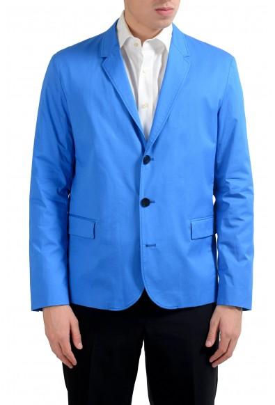 "Hugo Boss ""Asdeno-T"" Men's Blue Three Button Blazer Sport Coat"