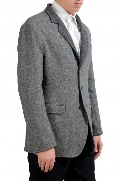 Dolce & Gabbana Men's 100% Wool Reversible Blazer Sport Coat: Picture 2