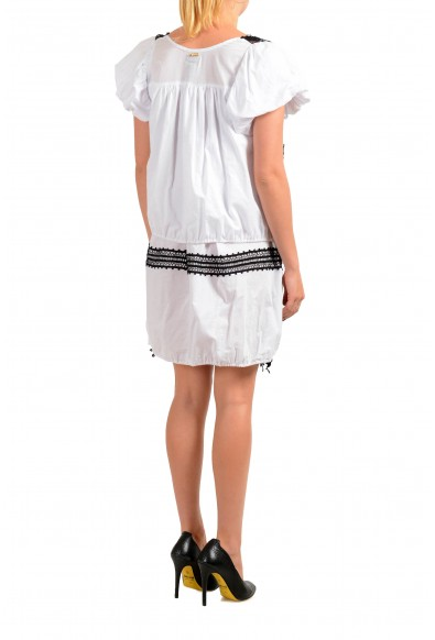 Just Cavalli Women's Lace Trimmed Shift Dress : Picture 2