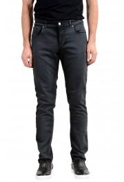 Versace Collection Men's Gray Slim Jeans