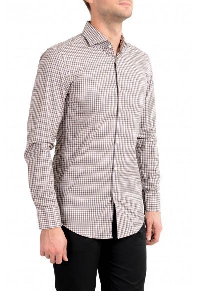 "Hugo Boss Men's ""Jason"" Multi-Color Plaid Long Sleeve Dress Shirt"