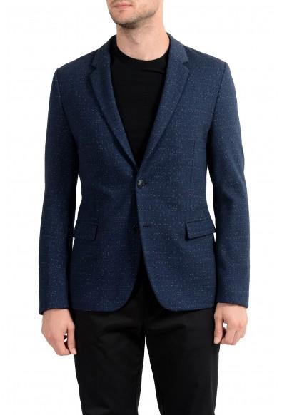 """Hugo Boss """"Arwido4-J"""" Men's Blue Two Button Blazer Sport Coat"""