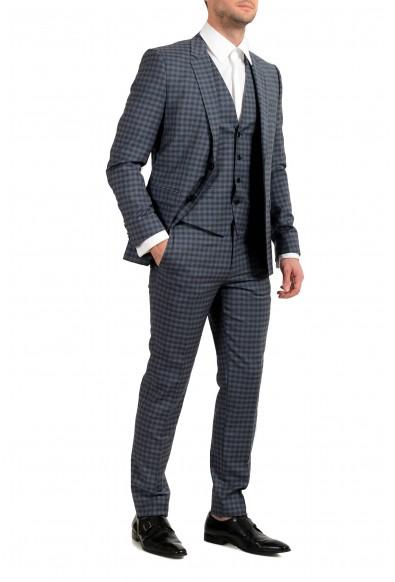 "Hugo Boss ""Astian/Hets184V1"" Men's 100% Wool Extra Slim Three-Piece Suit: Picture 2"