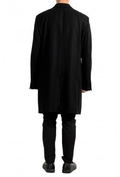"Hugo Boss ""Miratus1841HP"" Men's Wool Black Three Button Coat : Picture 2"
