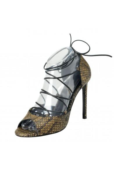 Saint Laurent Women's Python High Heel Pumps Shoes